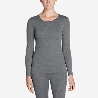 Thumbnail View 1 - Women's Midweight FreeDry® Merino Hybrid Baselayer Long-Sleeve Crew