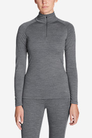 Women's Midweight FreeDry® Merino Hybrid Baselayer 1/4-Zip