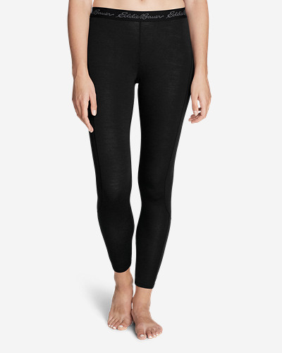 Women's Heavyweight Free Dry® Merino Hybrid Baselayer Pants by Eddie Bauer