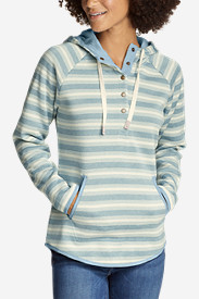 Women's Radiator Fleece Pullover - Stripe