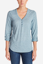 Women's Mercer Knit Henley Shirt