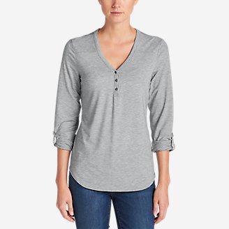 Thumbnail View 1 - Women's Mercer Knit Henley Shirt