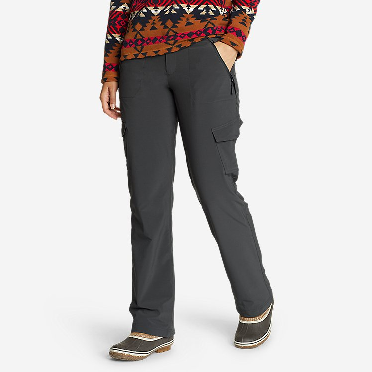 Women's Polar Fleece-Lined Pants large version