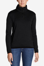 Women's Radiator Fleece Snap Mock-Neck Pullover