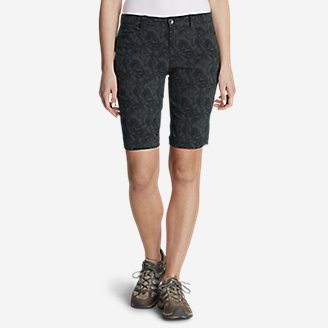 "Thumbnail View 1 - Women's Horizon Bermuda Shorts - Print, 11"""