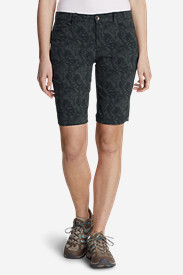 Women's Horizon Bermuda Shorts - Print, 11""