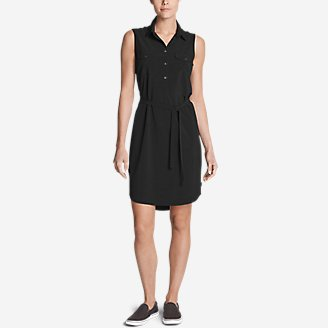Thumbnail View 1 - Women's Departure Sleeveless Shirt Dress