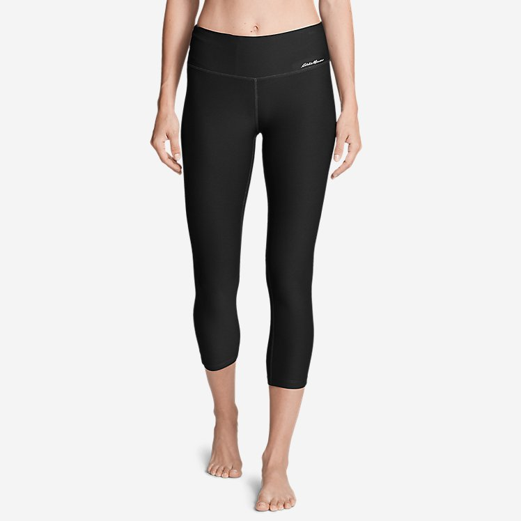 Women's Movement Capris - Solid large version