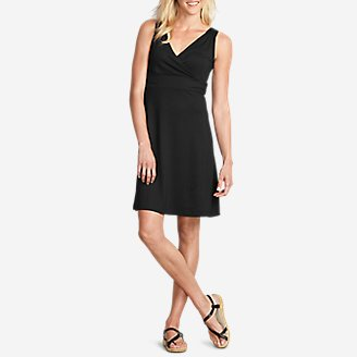 Thumbnail View 1 - Women's Aster Crossover Dress - Solid