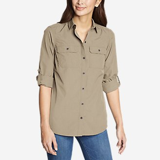 Thumbnail View 1 - Women's Mountain Ripstop Long-Sleeve Shirt