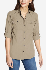 Women's Atlas Exploration Boyfriend Cargo Shirt