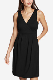 Women's Aster Crossover Dress - Solid