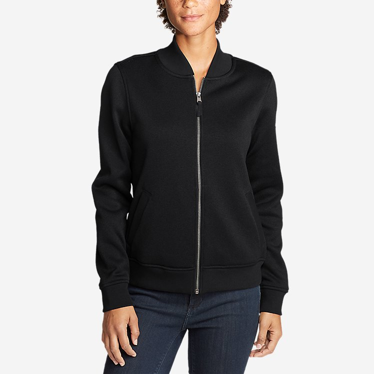 Women's Radiator Fleece Bomber Jacket large version