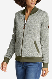 Women's Radiator Fleece Bomber Jacket