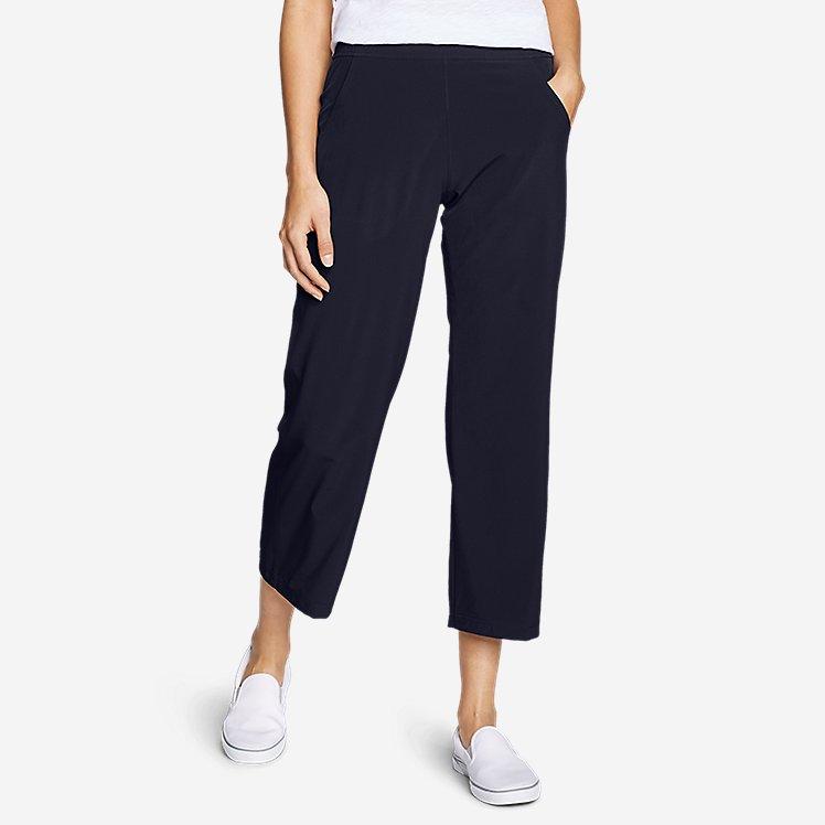 Women's Departure Wide-Leg Crop Pants large version