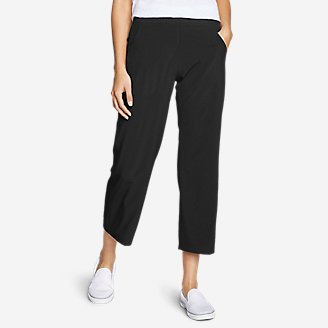 Thumbnail View 1 - Women's Departure Wide-Leg Crop Pants