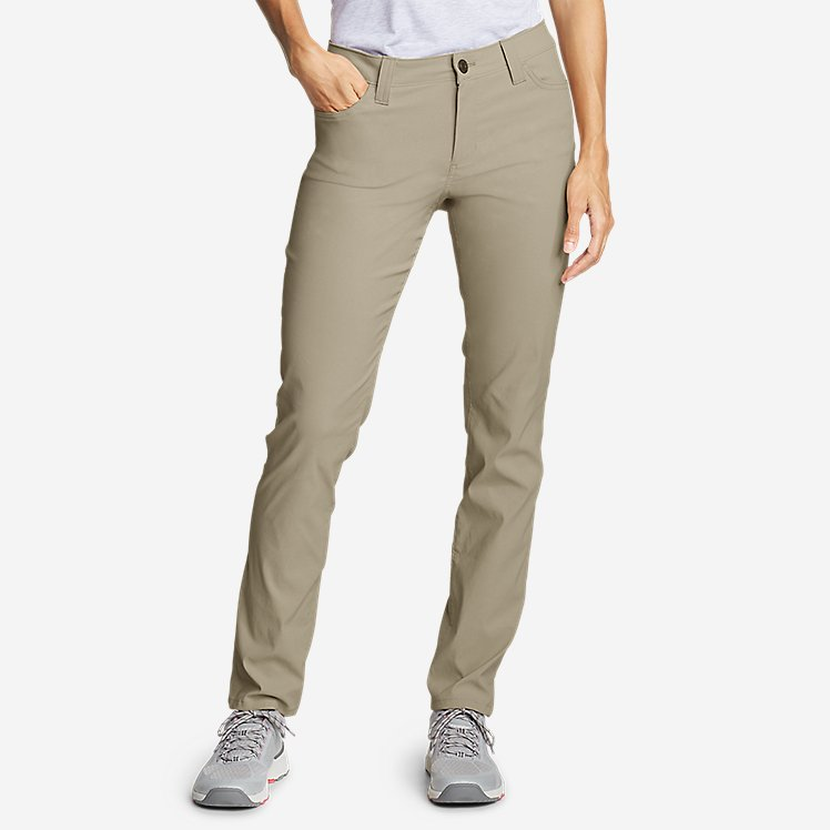 a04c6699e11d87 Women's Horizon Guide 5-Pocket Slim Straight Pants large version