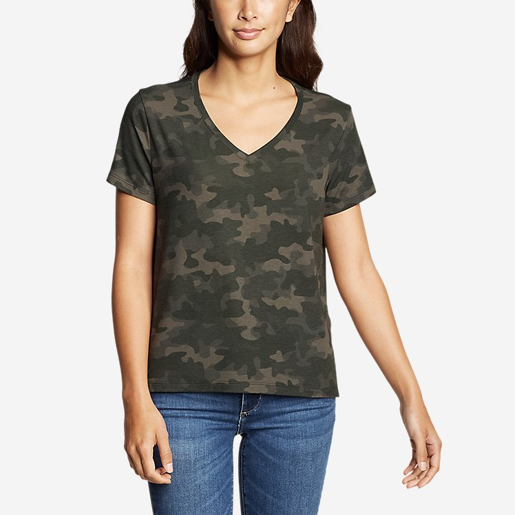 Women's Mercer Short-Sleeve Easy T-Shirt - Print large version