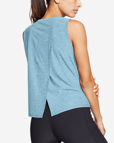 Women's Infinity Split Back Tank Top by Eddie Bauer