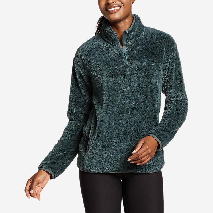 Women's Quest Plush Fleece 1/4-Zip large version