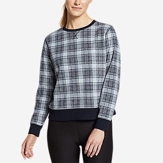 Thumbnail View 1 - Women's Quest Fleece Sweatshirt - Print
