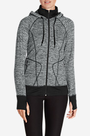 Women's Crossover Fleece Funnel-Neck Hoodie