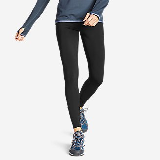 Thumbnail View 1 - Women's Crossover Trail Tight Leggings - High Rise