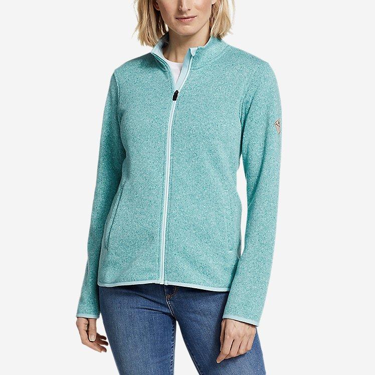 Women's Radiator Fleece Full-Zip Mock large version