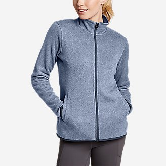 Thumbnail View 1 - Women's Radiator Fleece Full-Zip Mock