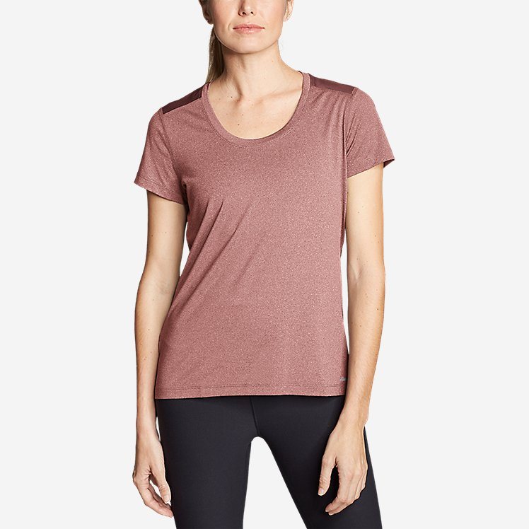 Women's TrailCool Scoop-Neck T-Shirt large version
