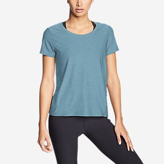 Thumbnail View 1 - Women's Infinity Scoop-Neck T-Shirt w/Pocket