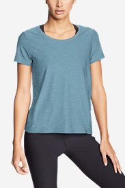 Women's Infinity Scoop-Neck T-Shirt w/Pocket