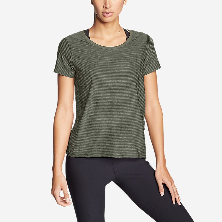 Women's Infinity Scoop-Neck T-Shirt w/Pocket large version