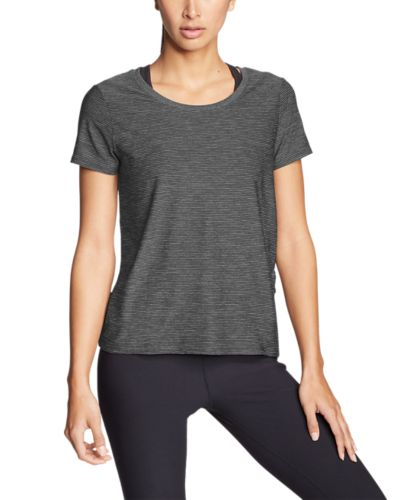 Eddie Bauer Infinity Scoop-Neck T-Shirt with Pocket