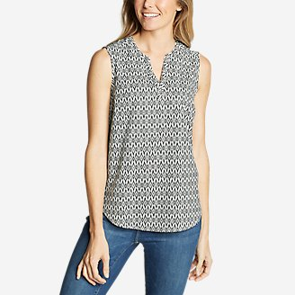 Thumbnail View 1 - Women's Departure Sleeveless Top - Print