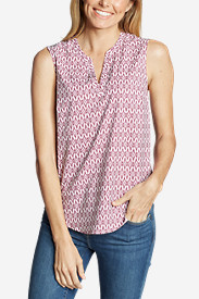 Women's Departure Sleeveless Top - Print