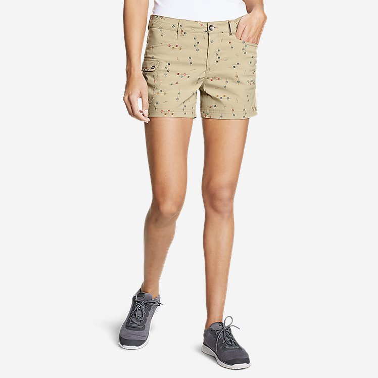 Women's Horizon One Cargo Pocket Shorts - Print large version