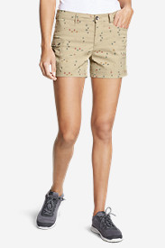Women's Horizon One Cargo Pocket Shorts - Print