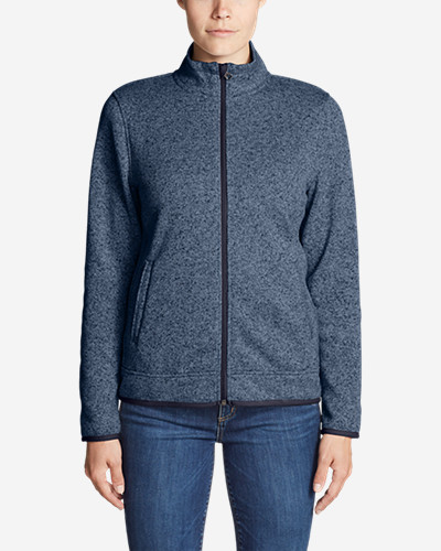 Women's Radiator Fleece Full Zip Jacket by Eddie Bauer