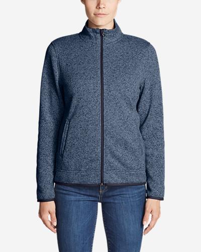 Women's Radiator Fleece Full Zip Jacket by Eddie Bauer