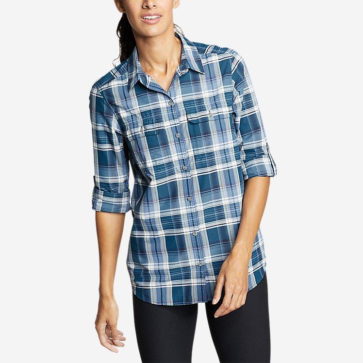 Women's Mountain Long-Sleeve Shirt - Boyfriend large version
