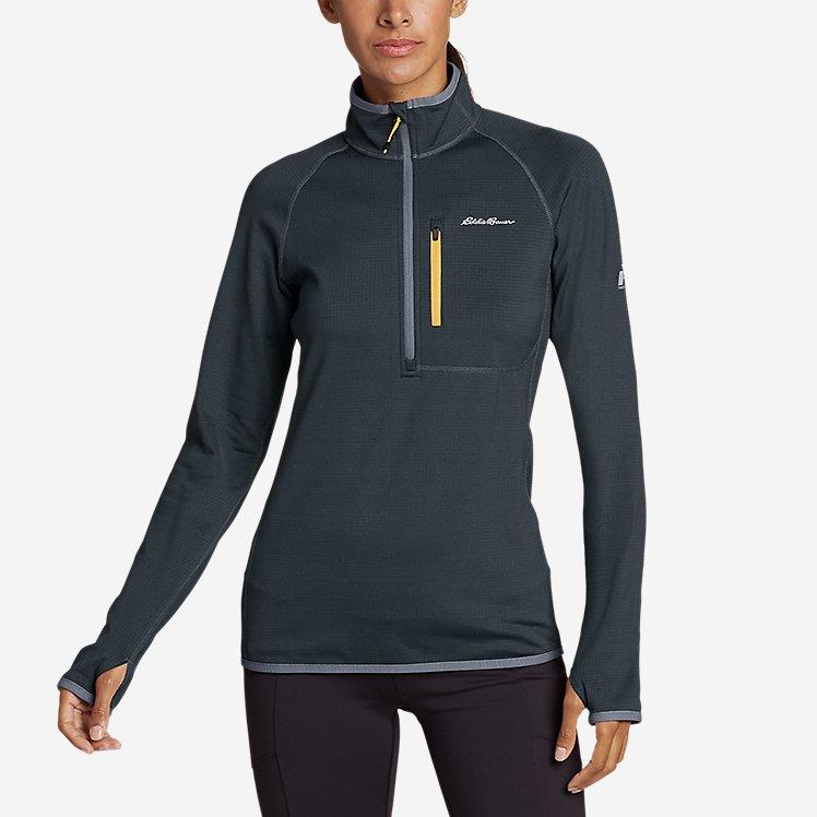 Women's High Route Grid Fleece 1/4-Zip large version