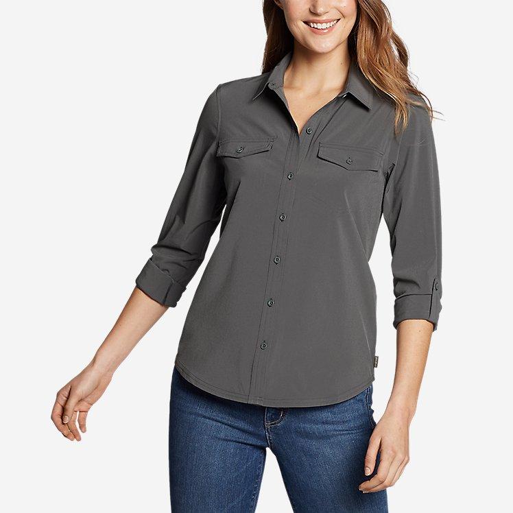 Women's Departure 2.0 Long-Sleeve Shirt large version