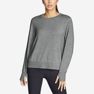 Thumbnail View 1 - Women's Enliven Ultrasoft Long-Sleeve Sweatshirt