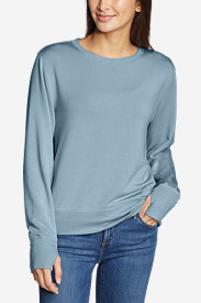 Women's Enliven Ultrasoft Long-Sleeve Sweatshirt