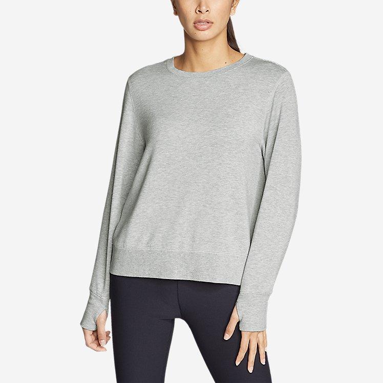 Women's Enliven Ultrasoft Long-Sleeve Sweatshirt large version