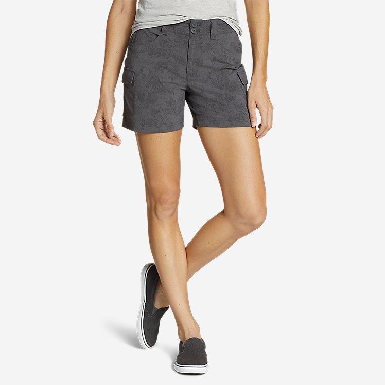 Women's Sightscape Horizon Cargo Shorts - Print large version
