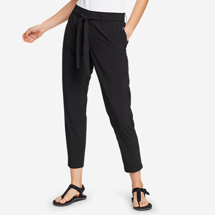Women's Departure Slim Ankle Tie-Waist Pants large version