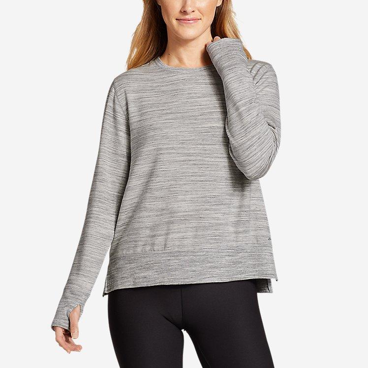 Women's Enliven Step Hem Sweatshirt large version