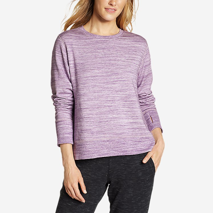 Women's Enliven Step Hem Sweatshirt large version
